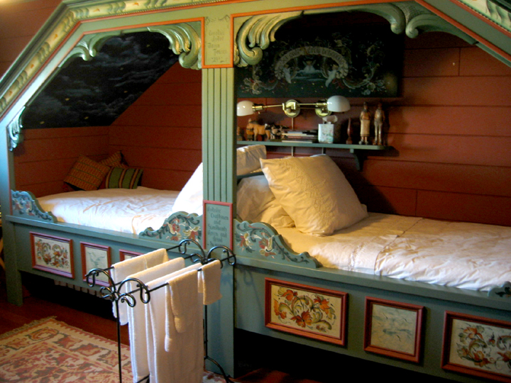 Norwegian Cupboard beds