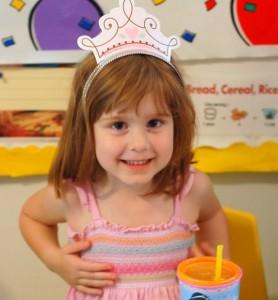 Mrs. Nisky on her fourth birthday