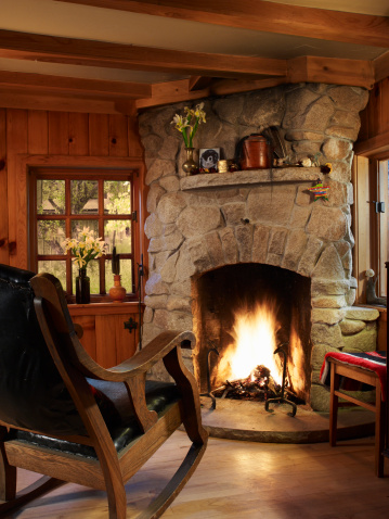 Empty-Chair-Fireplace